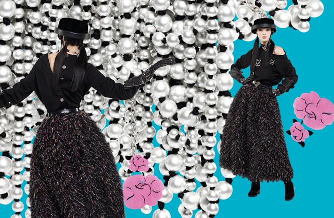 Фото №7 - Коллажи Карла Лагерфельда: креативная кампания Chanel FW 16/17