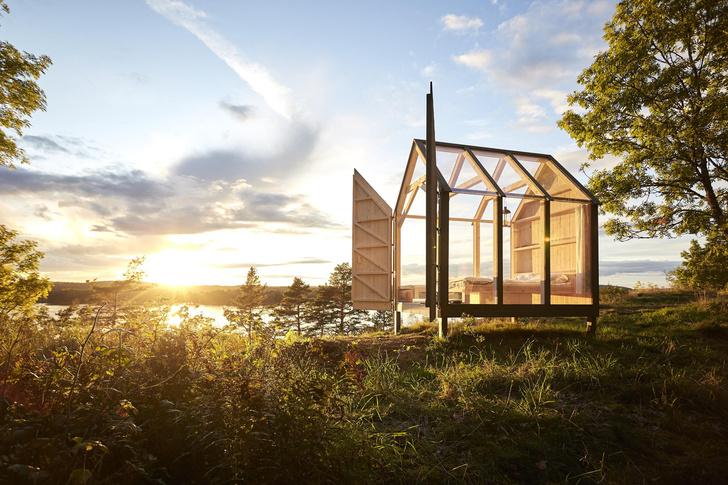 Фото №1 - Павильон для отдыха на природе в Швеции