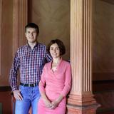 Андрей Павличенков и Ольга Головичер