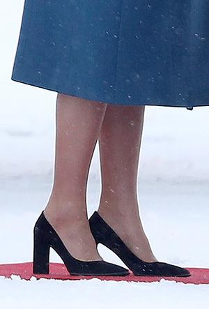 Фото №7 - Кейт Миддлтон и принц Уильям в Норвегии: день первый