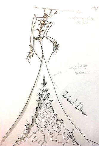 Фото №3 - Свадебное платье мечты: 10 трендов с Bridal Fashion Week SS19 в Нью-Йорке