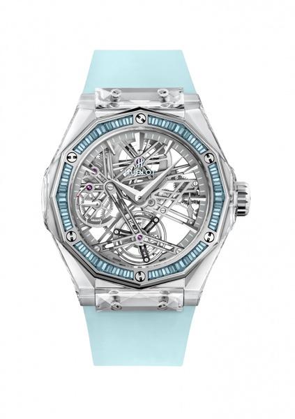 Фото №4 - Все прозрачно:Hublot иРичард Орлински представили часы для благотворительного аукциона