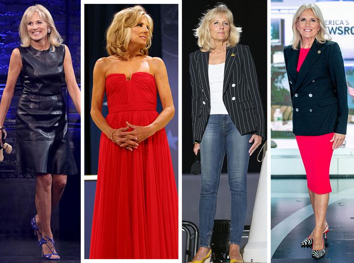 Фото №1 - Стиль Джилл Байден: как одевается новая Первая леди США