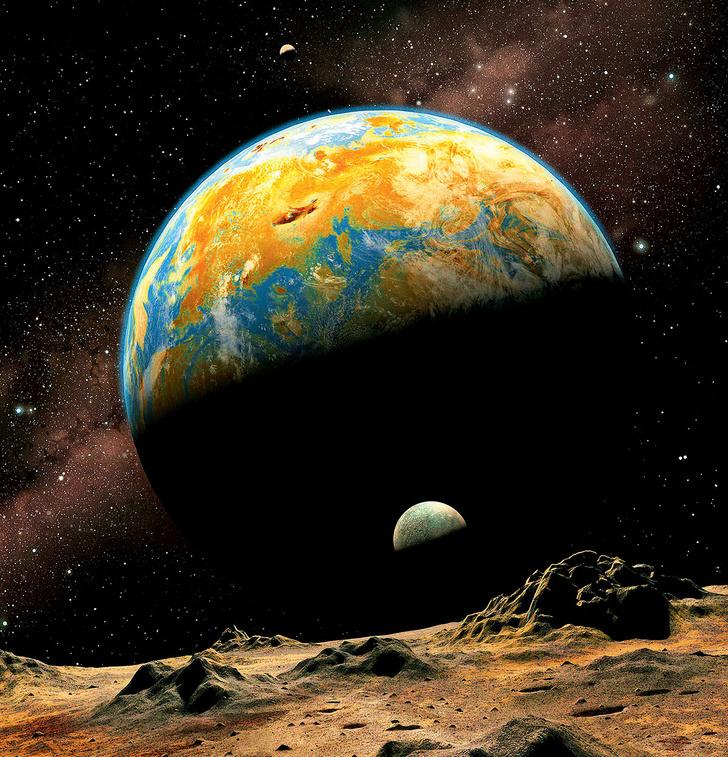 Фото №1 - Координаты чудес: 9 любопытных фактов о ближнем космосе