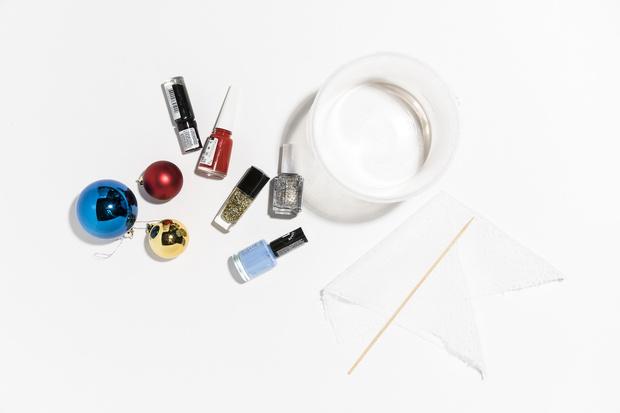 Фото №1 - Hand-made: украшаем елочные игрушки