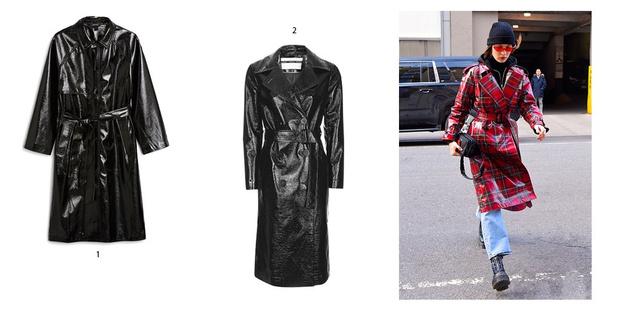 Фото №6 - Бери пример: Белла Хадид знает, какая верхняя одежда сейчас в тренде