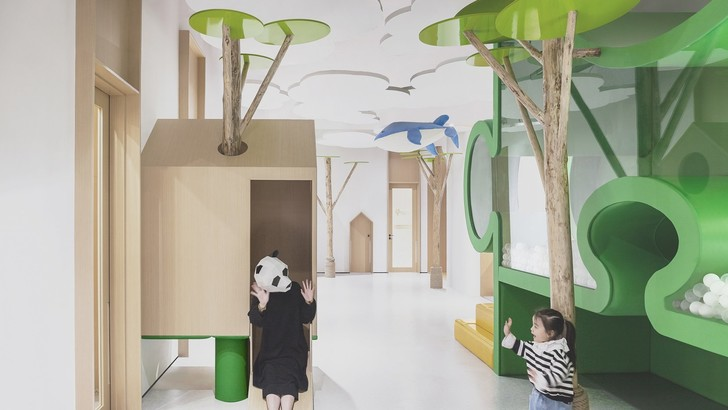 Фото №2 - Волшебный лес: детский сад в Китае