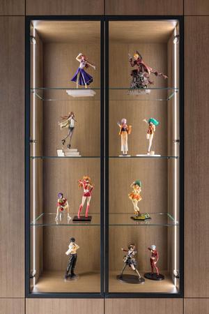 Фото №7 - Квартира для семьи коллекционеров аниме фигурок в Минске