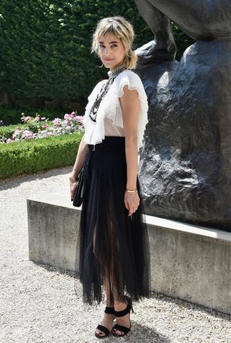 Фото №79 - Карли Клосс, Наталья Водянова и другие на кутюрном показе Dior FW18-19