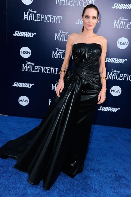 Versace Couture, Анджелина Джоли (Angelina Jolie)
