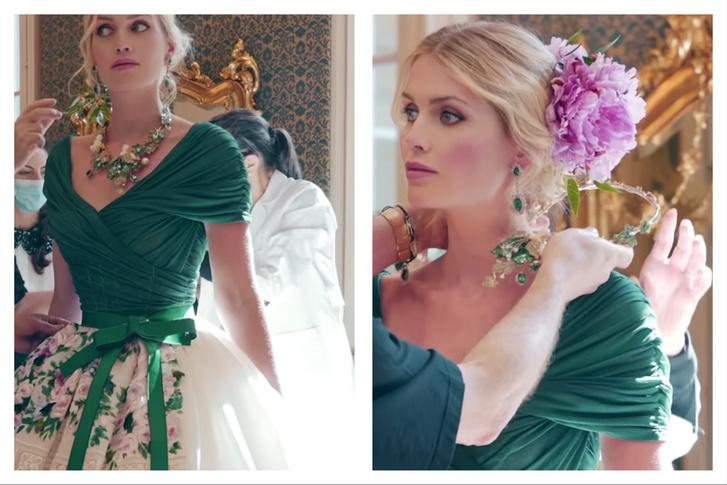 Фото №5 - Абсолютный рекорд: пять кутюрных платьев невесты на королевской свадьбе Китти Спенсер