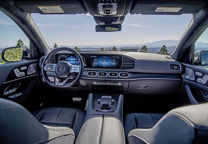 Фото №2 - Mercedes-Benz GLS-класса: «Майбаху» приготовиться