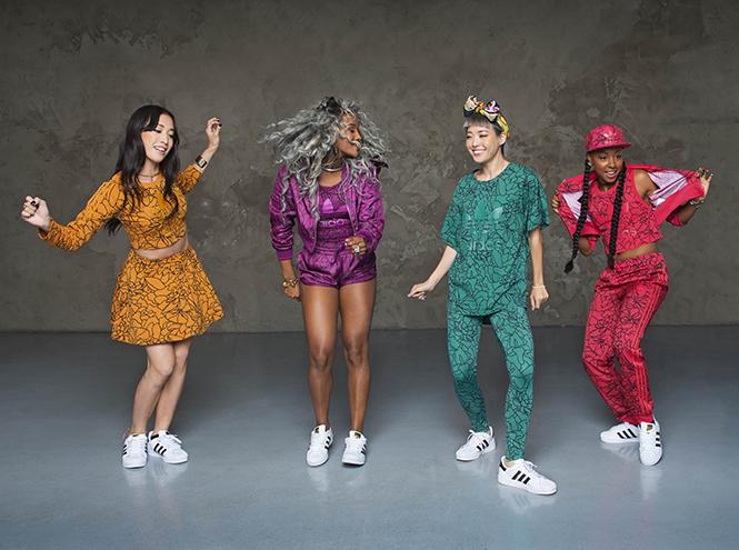 Фото №2 - Фаррелл Уильямс принял участие в разработке женской коллекции adidas Originals