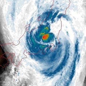 Фото №1 - Японию накрыло тайфуном