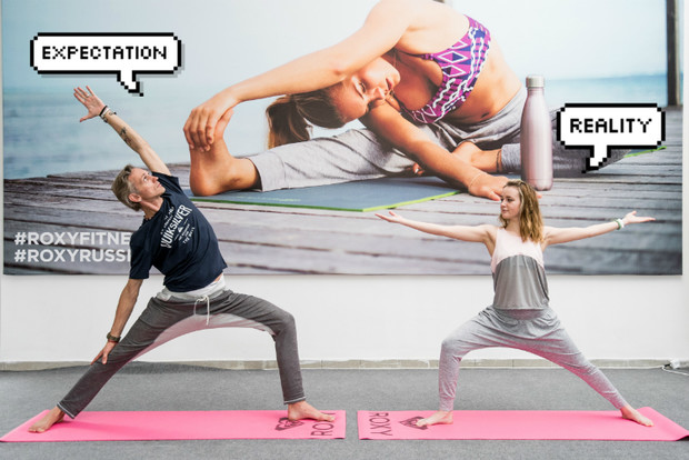Фото №14 - Все, что ты хотела знать о йоге: мастер-класс от гуру Roxy Yoga