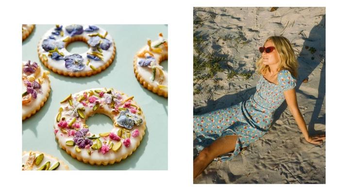 Фото №4 - Фуд-тренд: ванильное печенье со съедобными цветами— лучшее украшение для вашего пикника