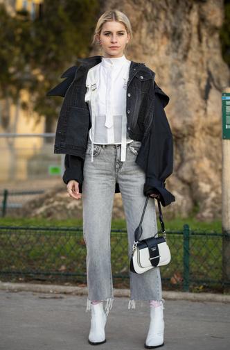 Фото №2 - И в дождь и в снег: как носить белую обувь в холодный сезон