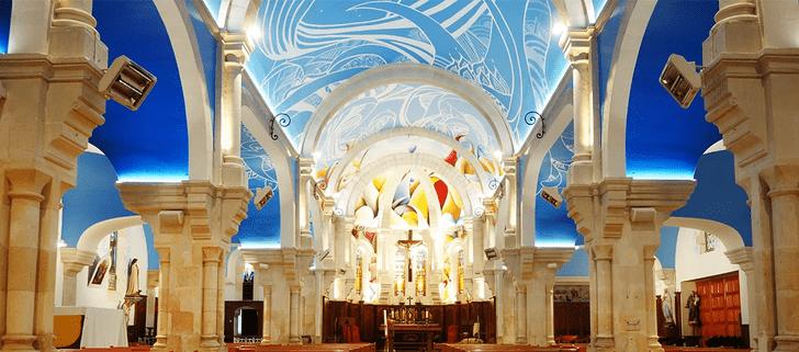 Фото №3 - Красочные граффити в церкви Святой Магдалины