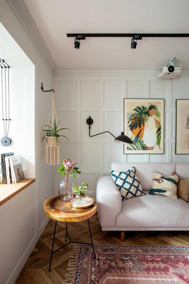 Фото №8 - Маленькая квартира в стиле бохо