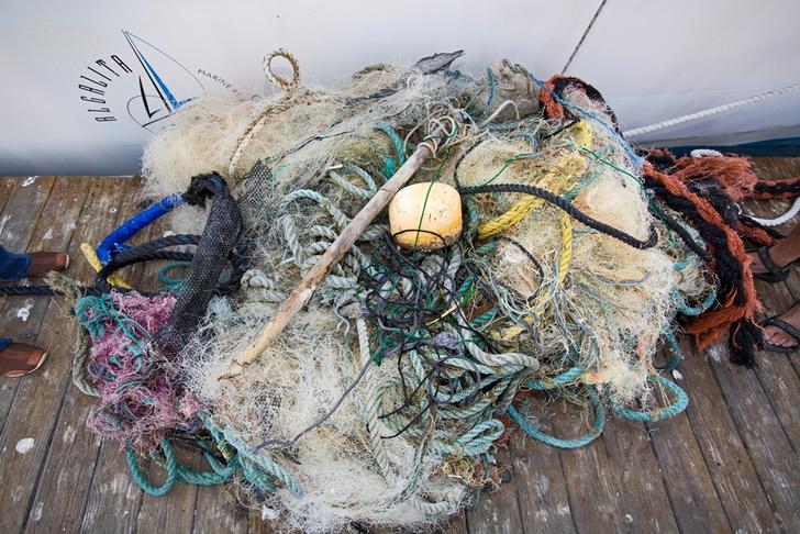 Фото №1 - Ученые измерили мусорное пятно в Тихом океане