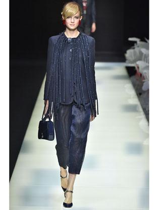 Фото №2 - Неделя моды в Милане: Giorgio Armani