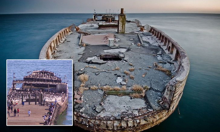 Фото №1 - Как выглядят корабли из бетона. Да-да, самые настоящие, а не макеты