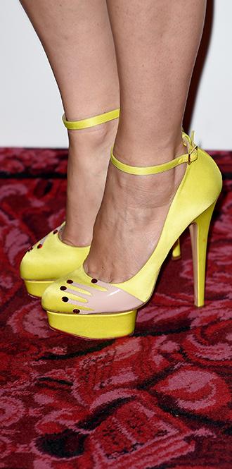 Фото №47 - Обувные бренды звезд, часть 1: Christian Louboutin, Jimmy Choo, Charlotte Olympia