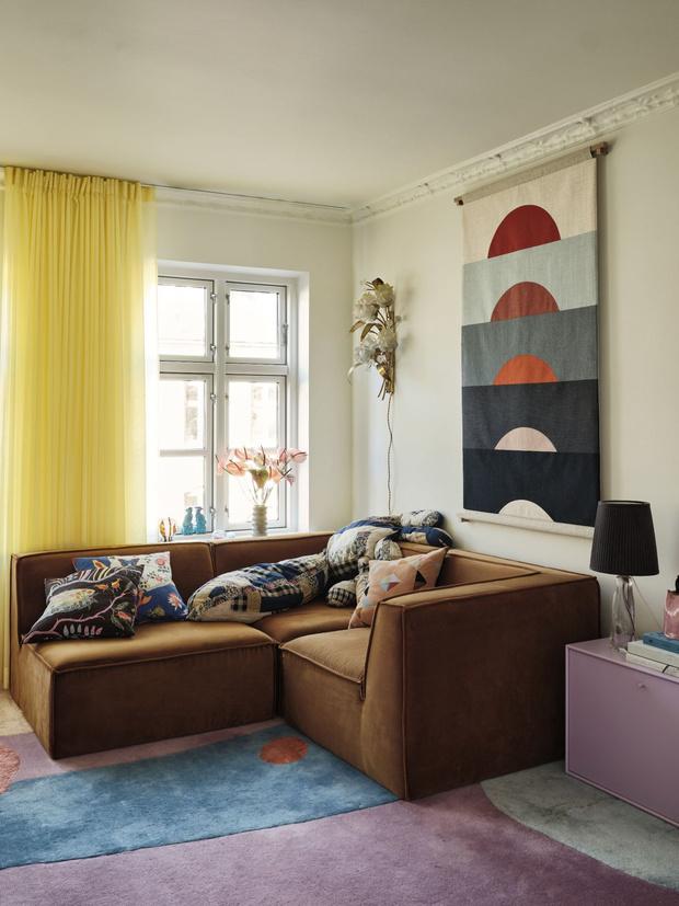 Фото №5 - Цвет, экспрессия, максимализм: уютный дом в Копенгагене