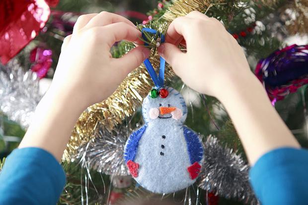 Фото №3 - Новогодняя мастерская: идеи декора для детей и их родителей