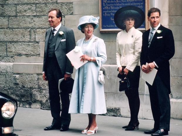 Фото №2 - «Эльфийская» свадьба: как выходила замуж единственная племянница Королевы