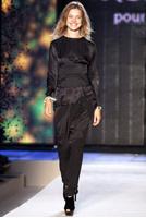 Наталья Водянова на показе Etam