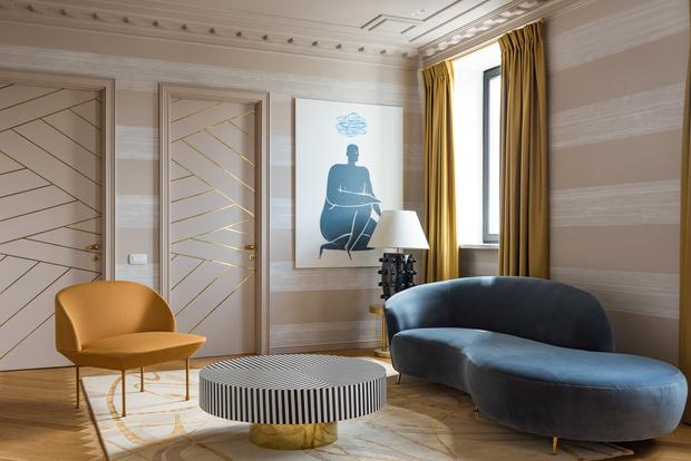 Фото №4 - Квартира на Саввинской набережной 74 м²