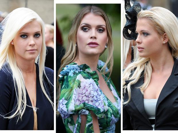 Фото №1 - Племянницы принцессы Дианы: Леди Китти, Элиза и Амелия Спенсер