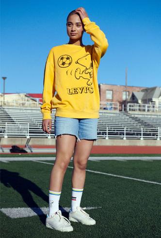 Фото №2 - Влюбленным в спорт: 10 вещей из коллаборации Levi's x Peanuts