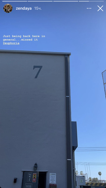 Фото №3 - Это случилось! Зендая вернулась на съемки «Эйфории» 🥳
