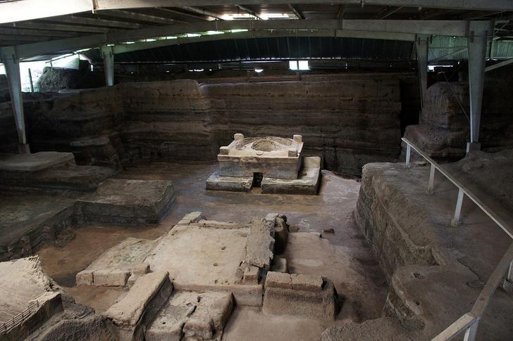 Фото №1 - В американских «Помпеях» впервые нашли человеческие останки