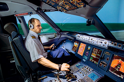 Фото №1 - Как устроена кабина пилота