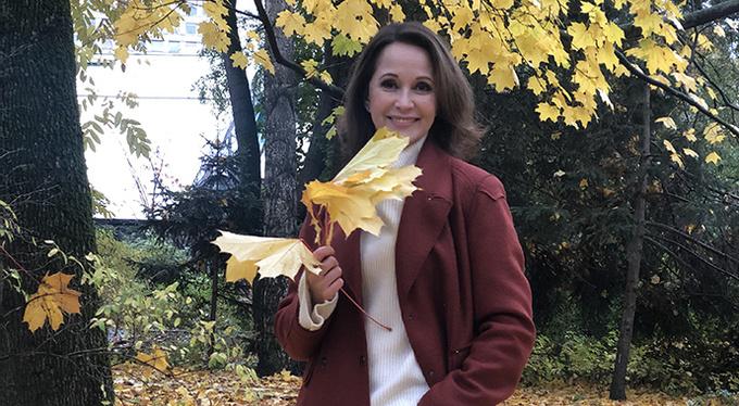 Ольга Кабо поддержала эко-проект «Наше дерево»
