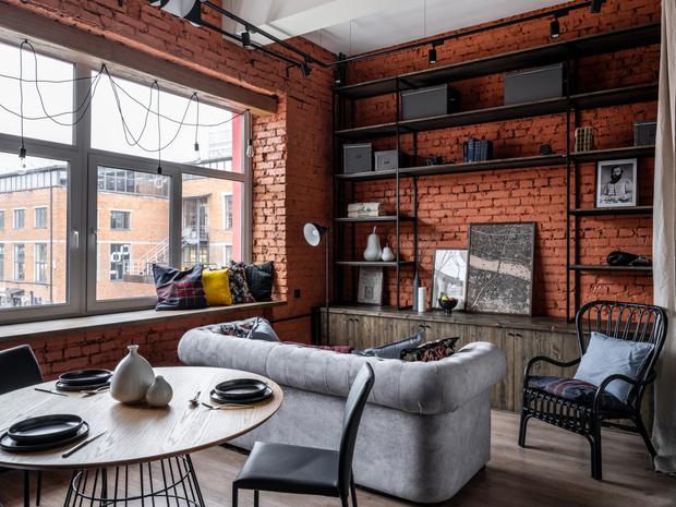 Фото №3 - Новый формат жизни: квартира-офис 52 м²