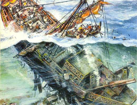 Фото №1 - Пять цивилизаций на одном корабле