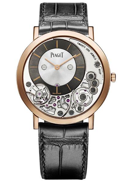 Часы Altiplano 900P, розовое золото, Piaget.