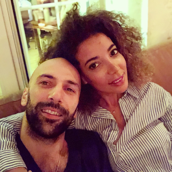 Евгений Папунаишвили и Салима Бижабер