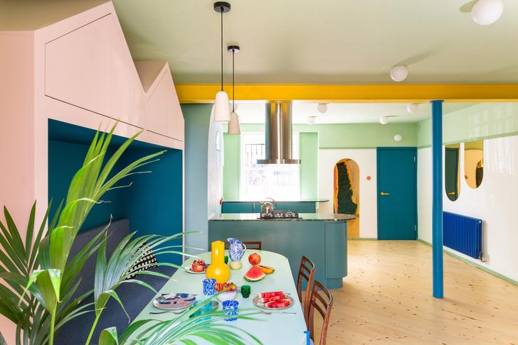 Фото №2 - Color Blocking: яркий дом в Лондоне