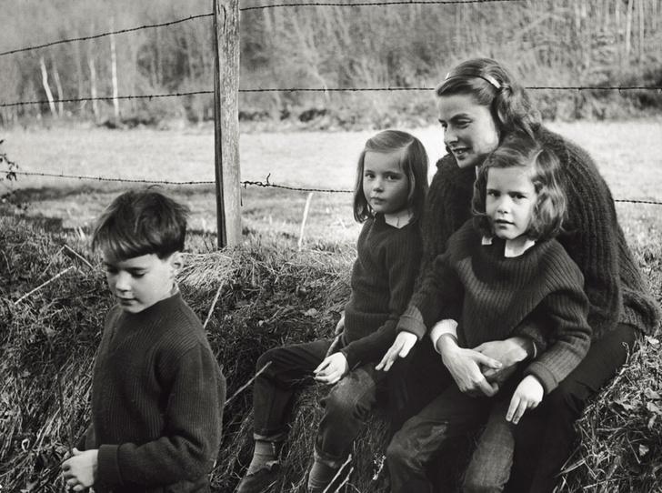 Фото №17 - Итальянские страсти: «аморальный» роман Ингрид Бергман и Роберто Росселлини