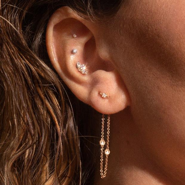 Фото №3 - 3 самых популярных точки для пирсинга ушей