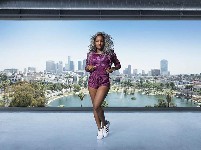 Фото №5 - Фаррелл Уильямс принял участие в разработке женской коллекции adidas Originals