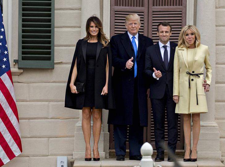 Фото №5 - Как Трамп Макрона принимал: самые яркие детали госвизита французской Первой пары в США