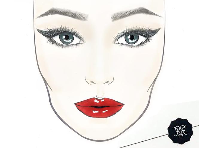 Фото №28 - Три идеи макияжа для вечеринки от визажиста Rouge Bunny Rouge