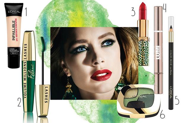 Фото №1 - 3 идеи новогоднего макияжа
