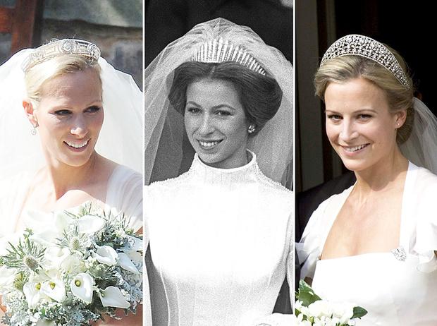 Фото №1 - Свадебные тиары британской королевской семьи